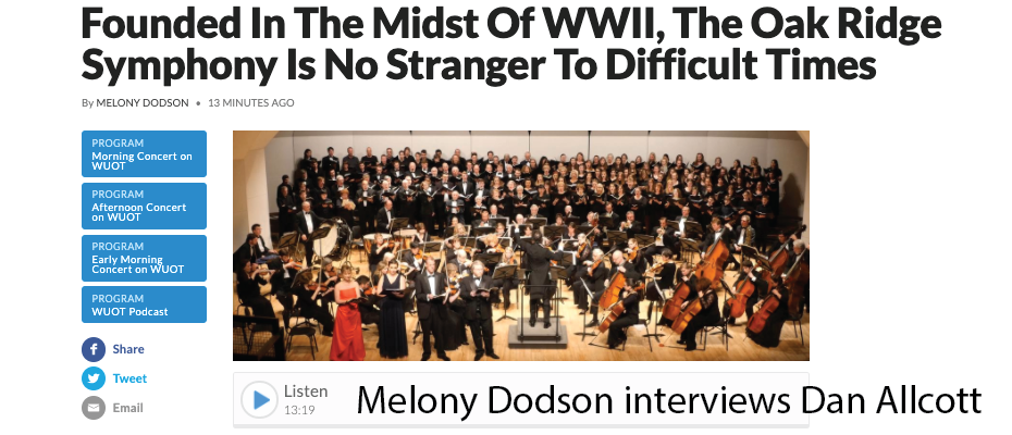 Melony Dodson interview with Dan Allcott