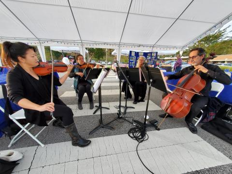 String Quartet in Jackson Square